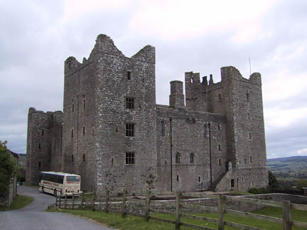Back of Bolton Castle