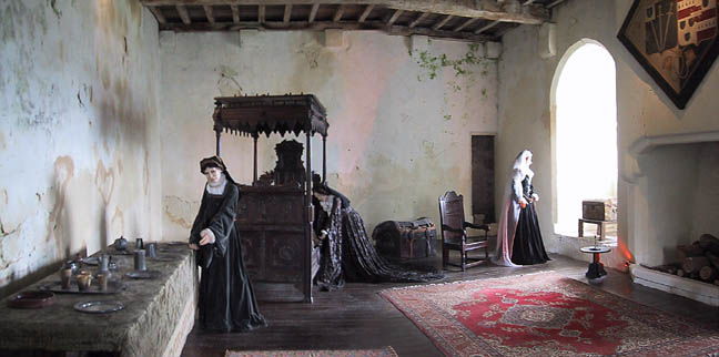 Mary Queen Of Scots Imprisonment Mary s Chamber on the 3rd