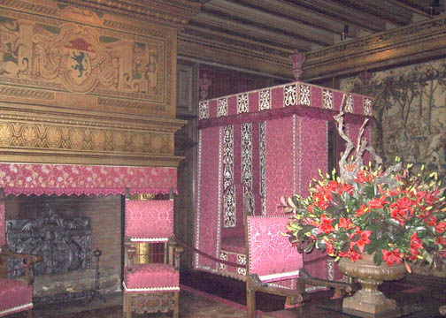 Cesar of Vendôme's bedroom