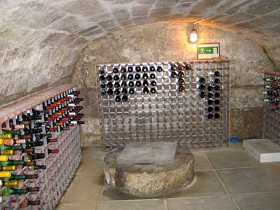 Wine cellar and well