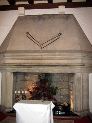 Great Hall's Fireplace