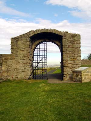Gateway of outer wall