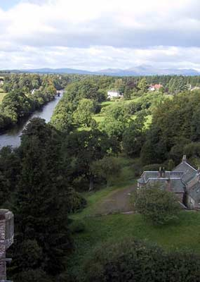 View of the River Teith