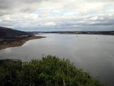 View of the Clyde with the Erskine Bridge in the far distance