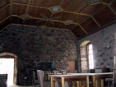 A restored room in the north range