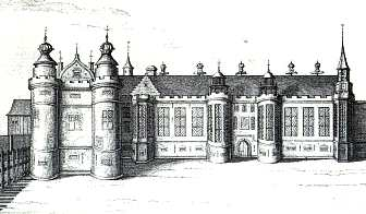 Sketch of the palace