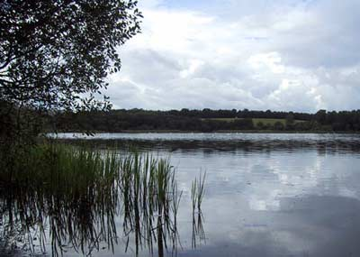 View of the picturesque little loch