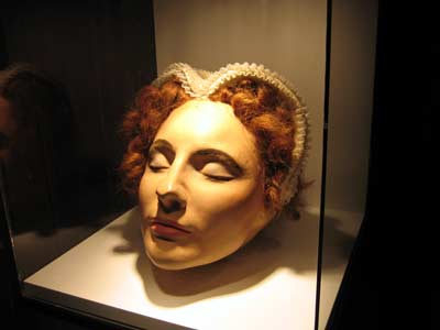 Mary's Death Mask?