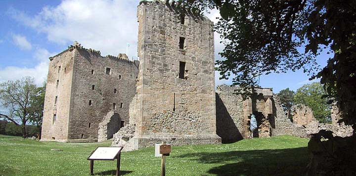 Spynie Palace from the East Range